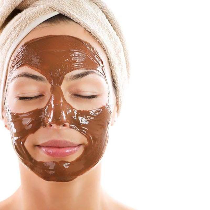 Chocolaterapia facial.