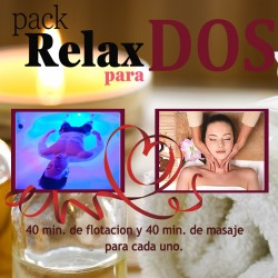 Pack relax para dos